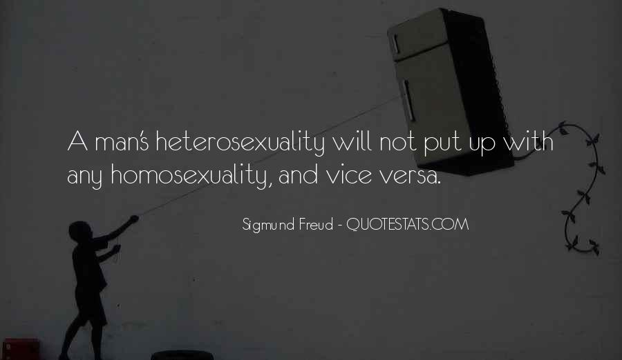 Quotes About Heterosexuality #1101835