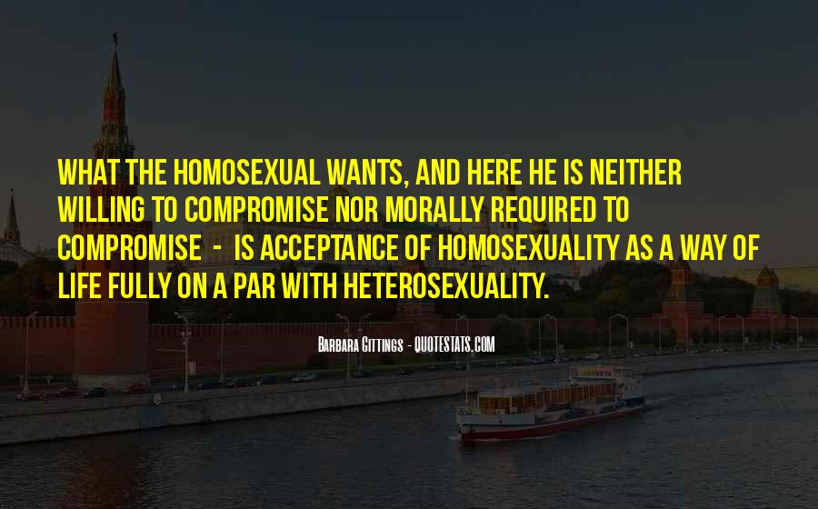 Quotes About Heterosexuality #1376328