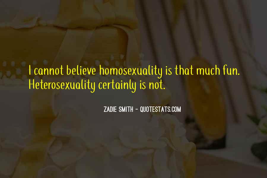 Quotes About Heterosexuality #211172