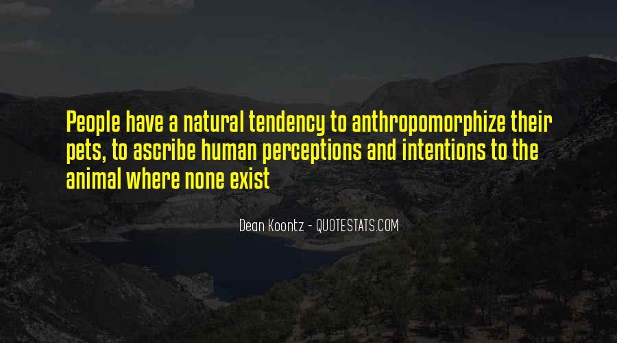 Anthropomorphize Quotes #1428953
