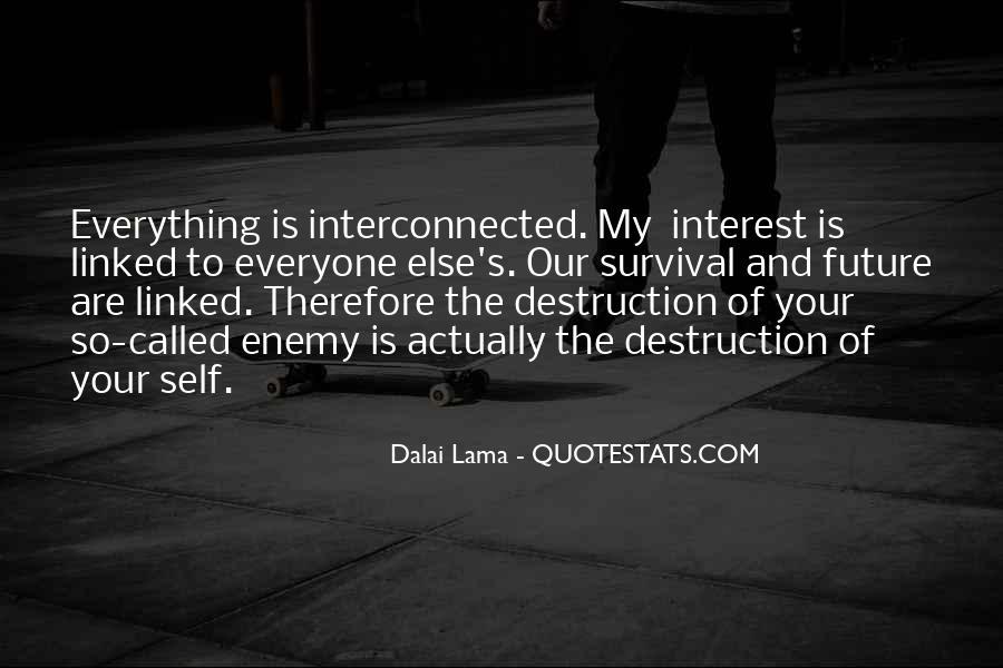 Quotes About Self Destruction #111519