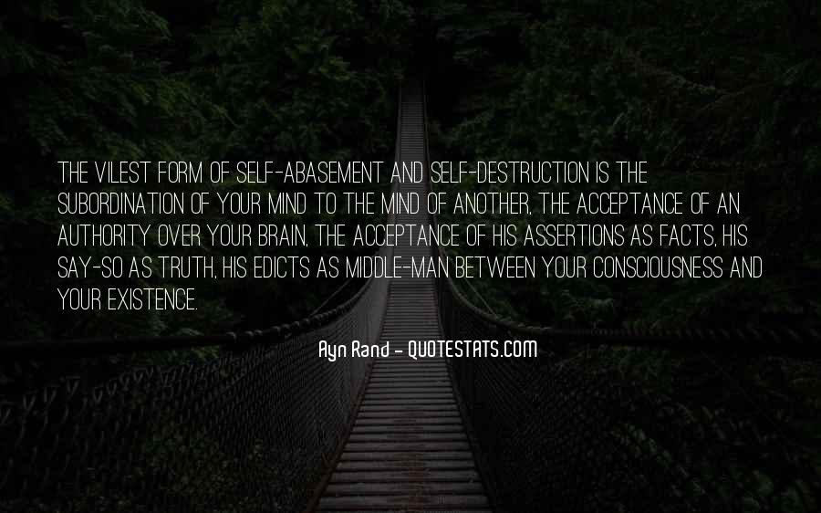 Quotes About Self Destruction #111855