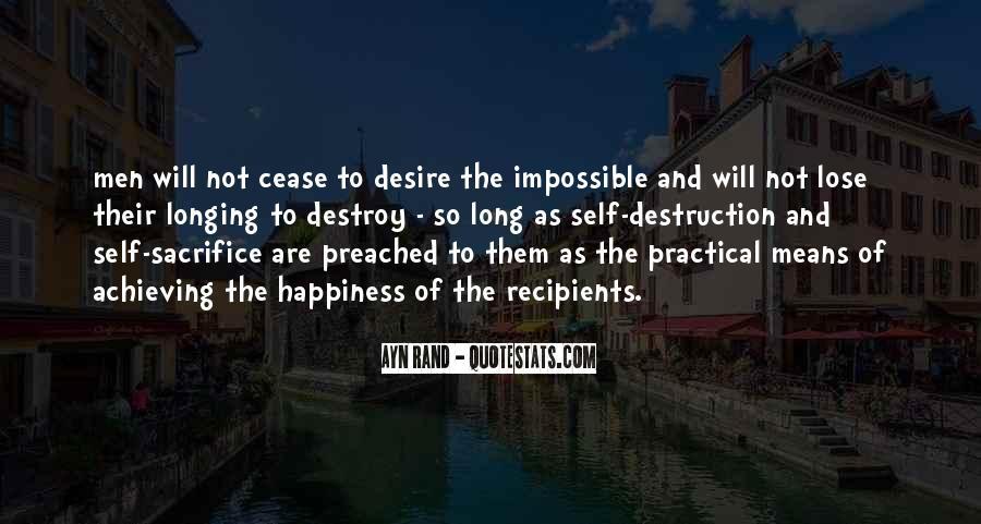 Quotes About Self Destruction #166313