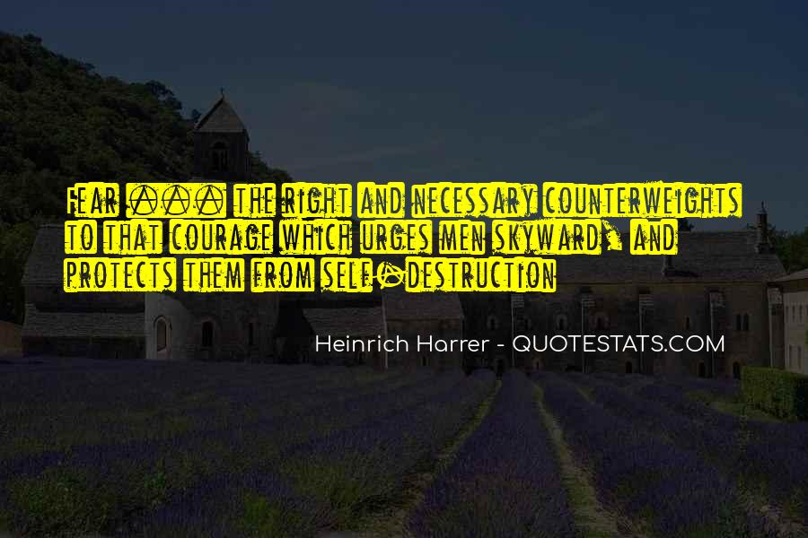 Quotes About Self Destruction #215440
