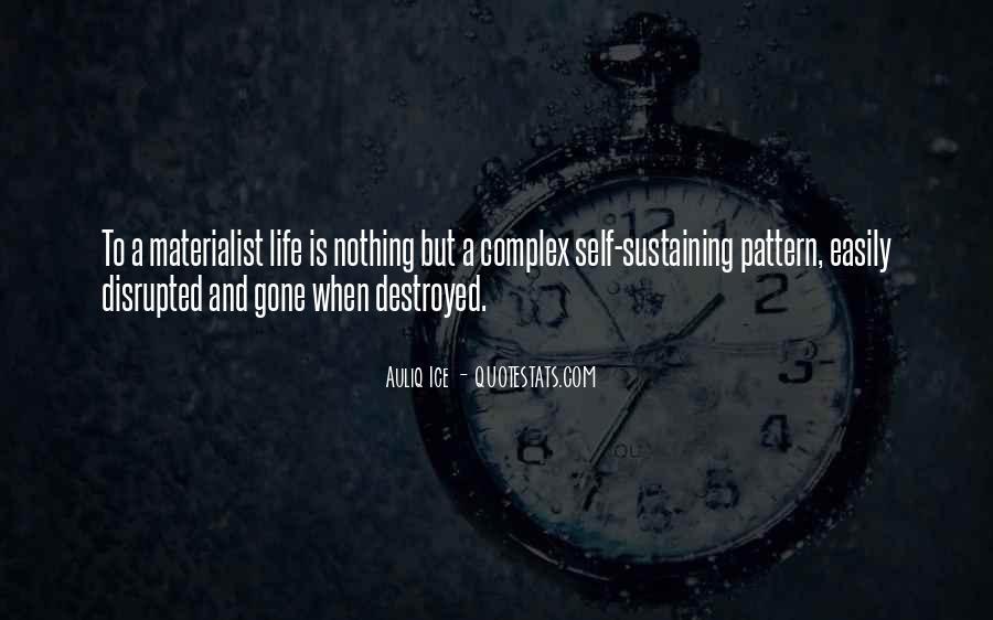 Quotes About Self Destruction #385187