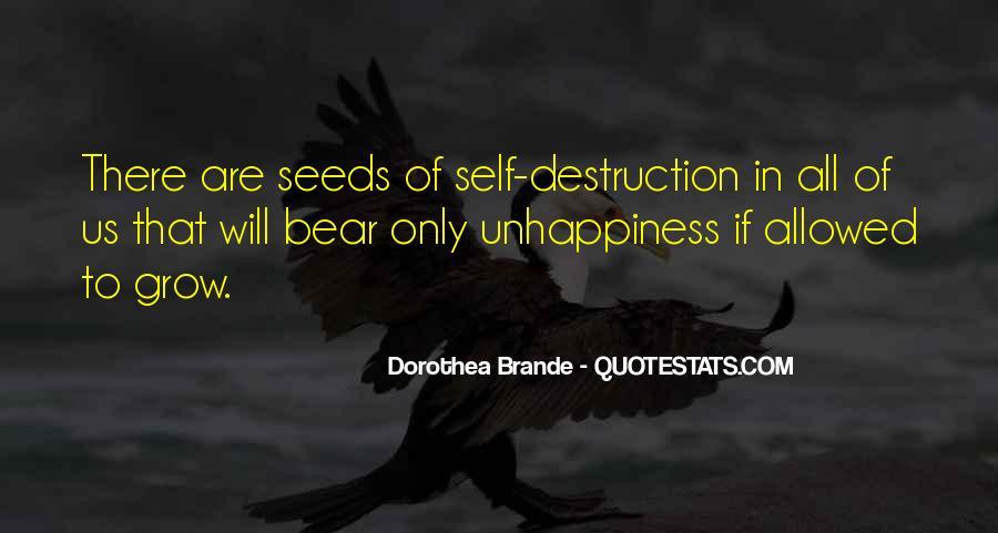 Quotes About Self Destruction #397144