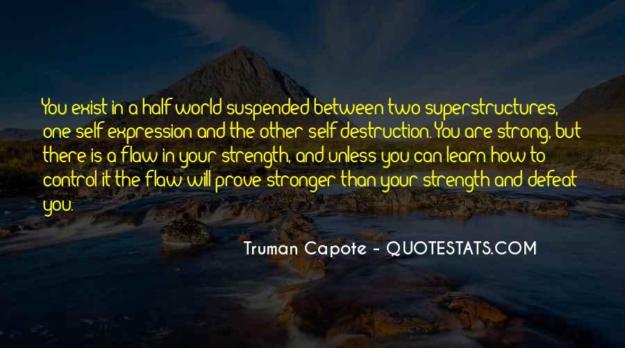 Quotes About Self Destruction #473710