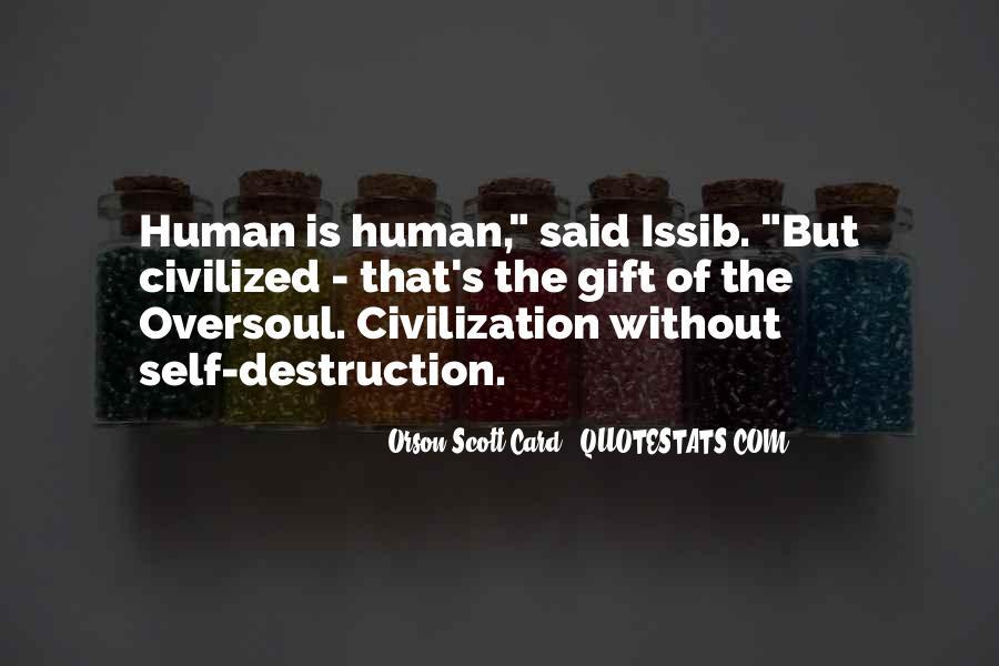 Quotes About Self Destruction #648521