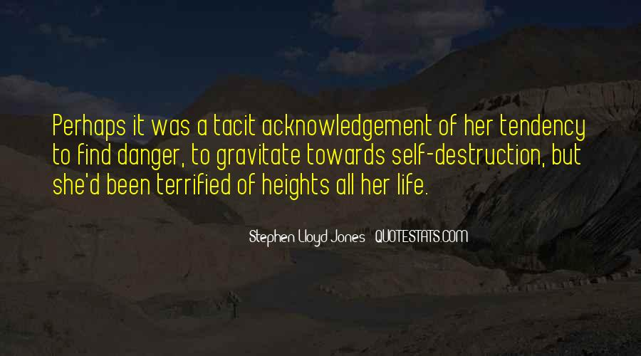 Quotes About Self Destruction #669406