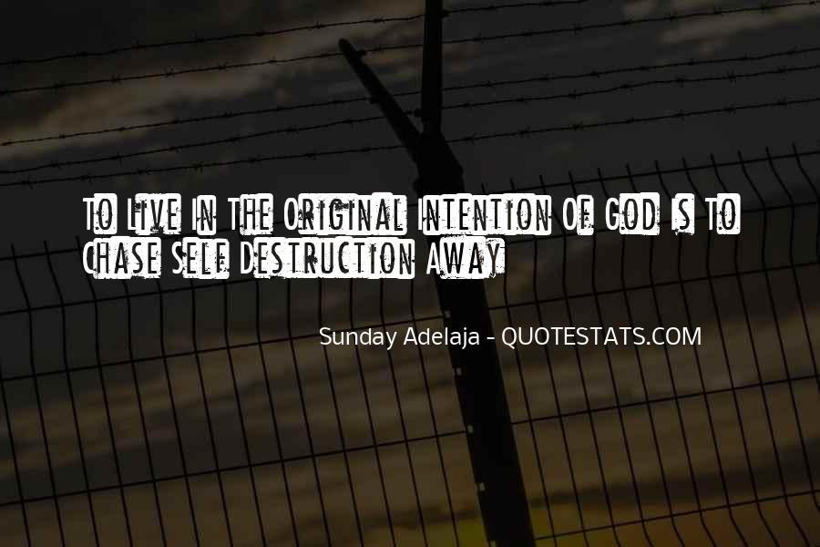 Quotes About Self Destruction #76121