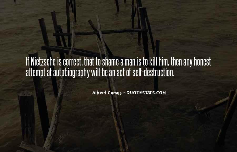 Quotes About Self Destruction #770853