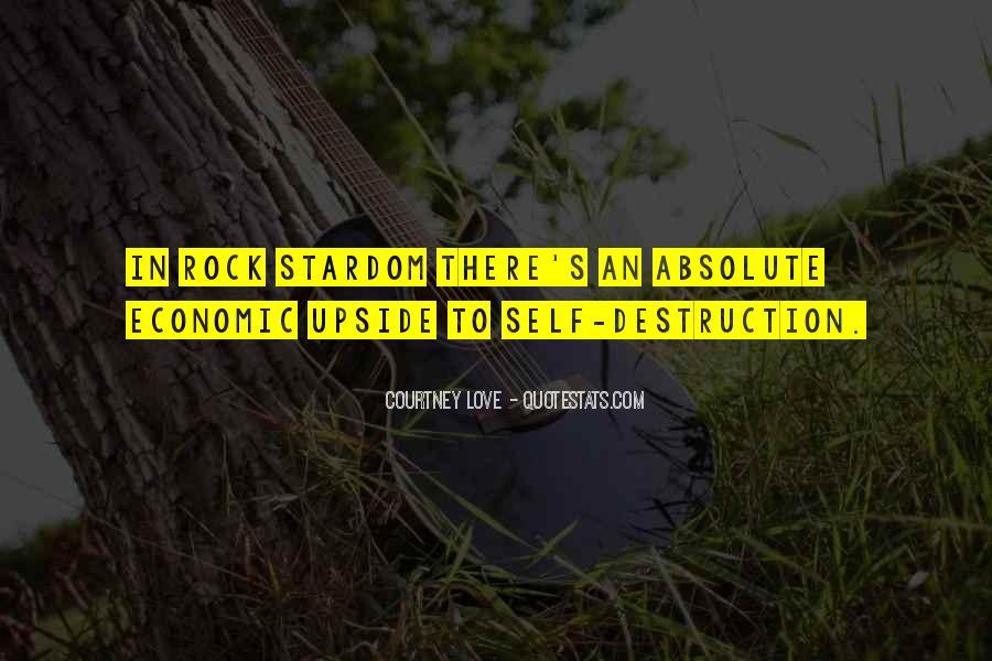 Quotes About Self Destruction #820822
