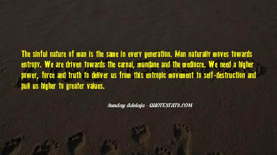 Quotes About Self Destruction #823180