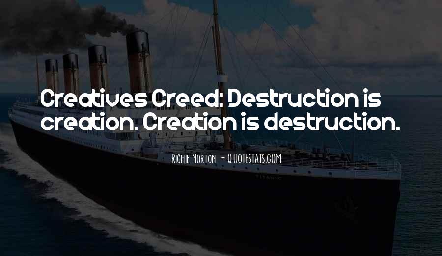 Quotes About Self Destruction #865183