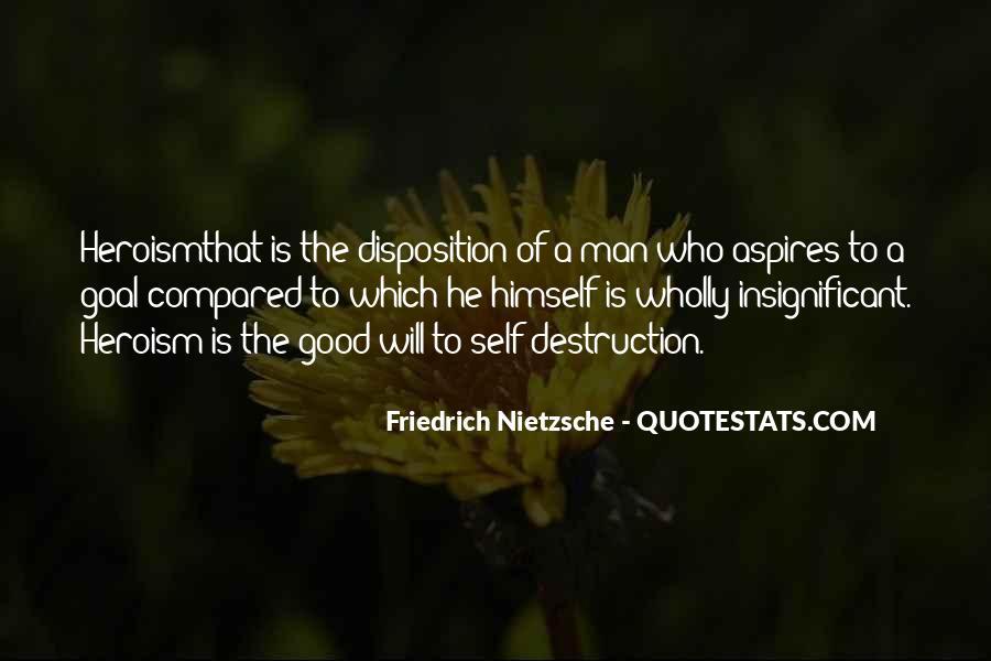 Quotes About Self Destruction #89955