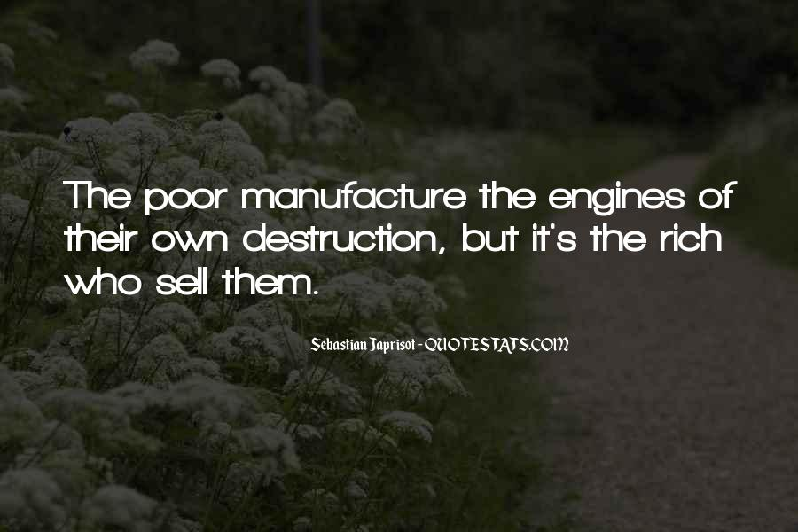 Quotes About Self Destruction #904601