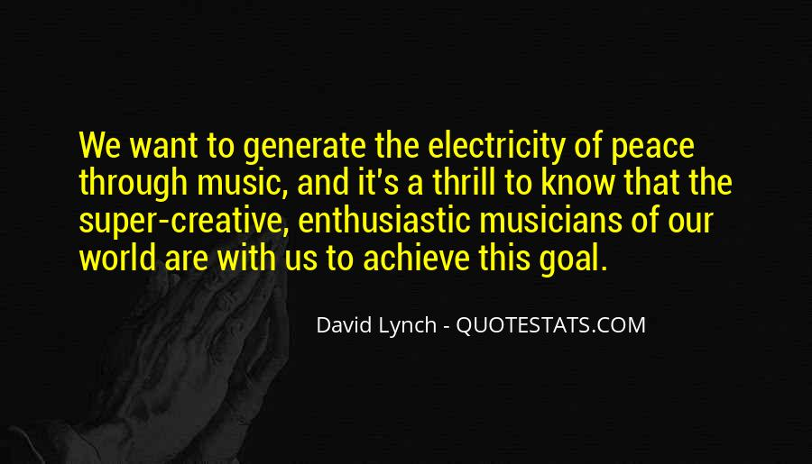 Quotes About The World And Music #106007
