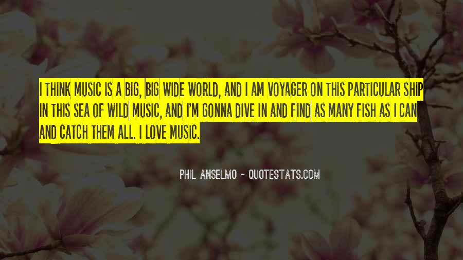 Quotes About The World And Music #114247