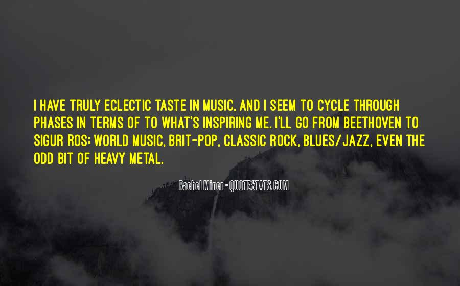 Quotes About The World And Music #125107