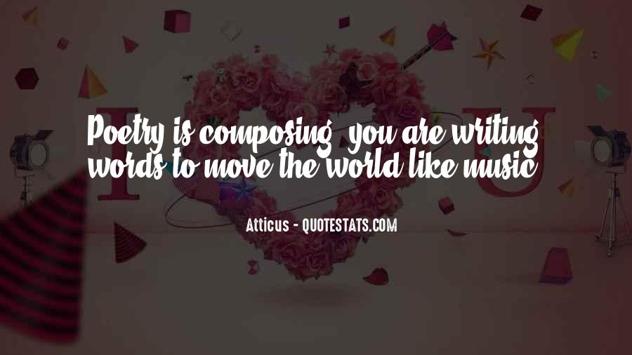 Quotes About The World And Music #140536