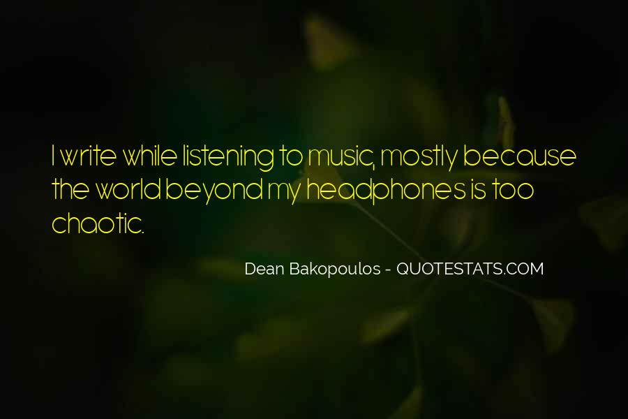 Quotes About The World And Music #151307
