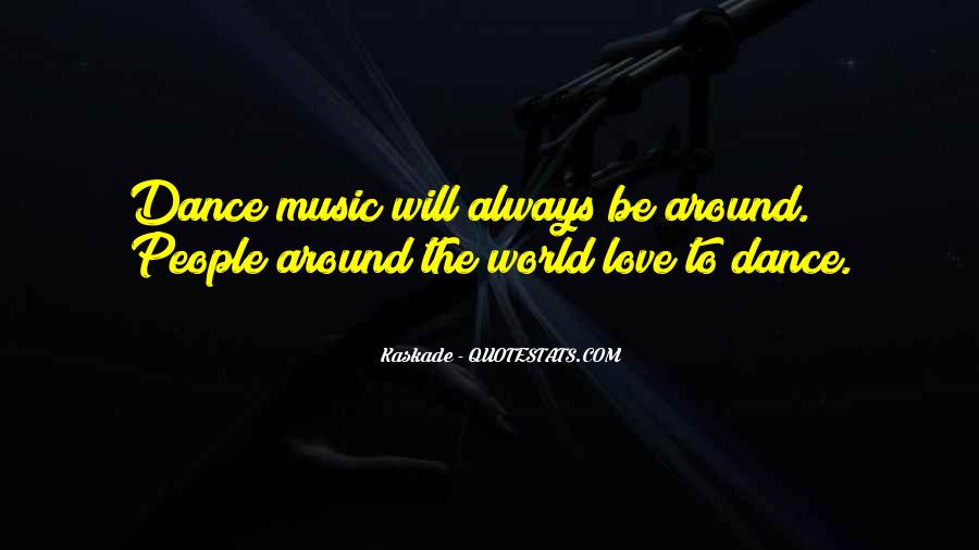 Quotes About The World And Music #160905