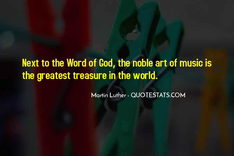Quotes About The World And Music #161099
