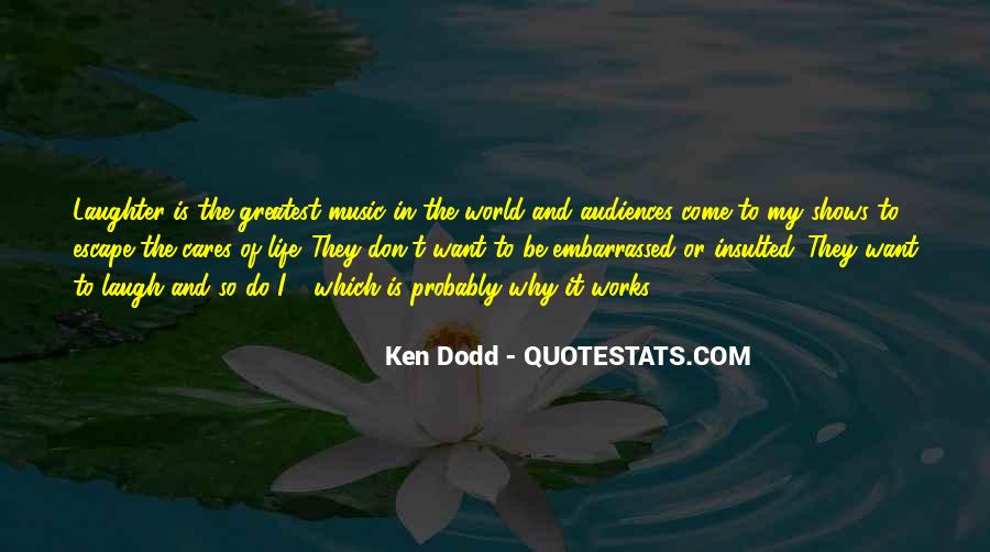 Quotes About The World And Music #34159