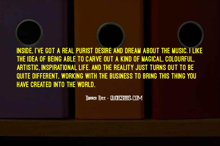 Quotes About The World And Music #34407