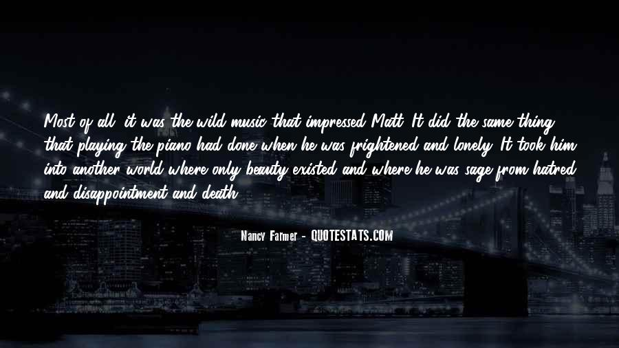 Quotes About The World And Music #39704