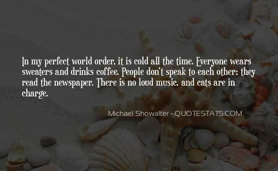 Quotes About The World And Music #4180