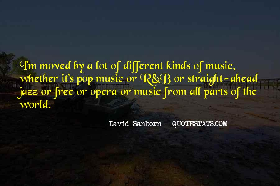 Quotes About The World And Music #45015