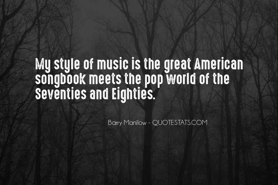 Quotes About The World And Music #45660