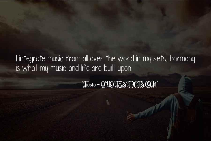 Quotes About The World And Music #59384