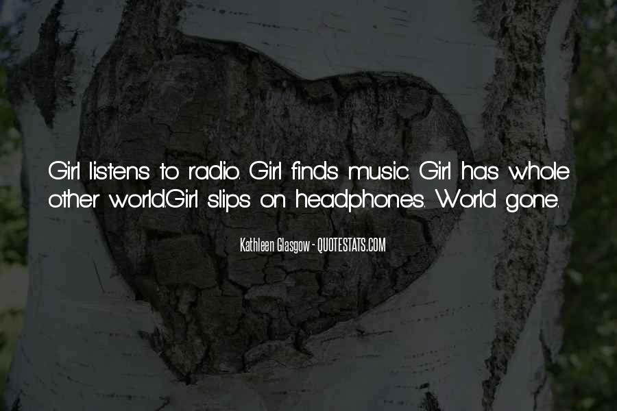 Quotes About The World And Music #62126