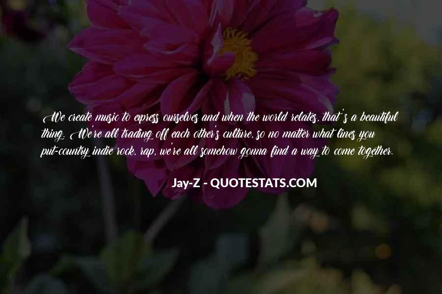 Quotes About The World And Music #82266