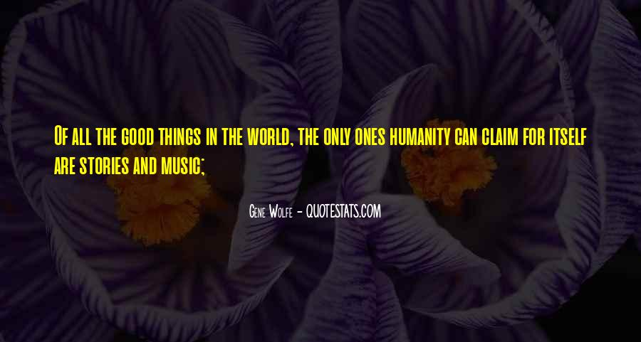 Quotes About The World And Music #82297
