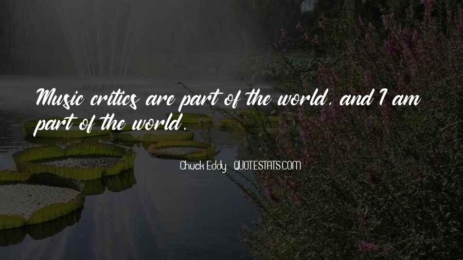 Quotes About The World And Music #84614