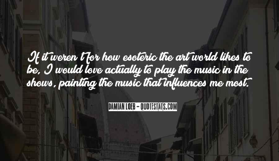 Quotes About The World And Music #92838