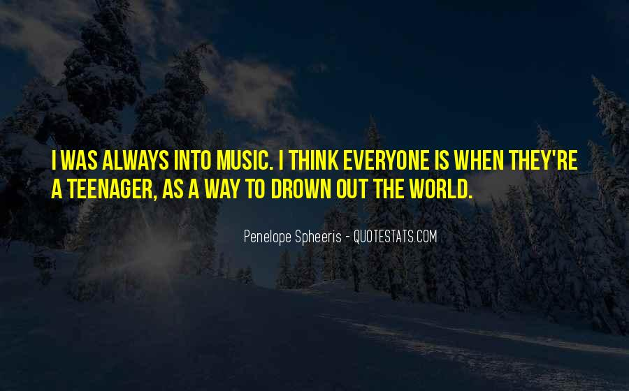 Quotes About The World And Music #94881