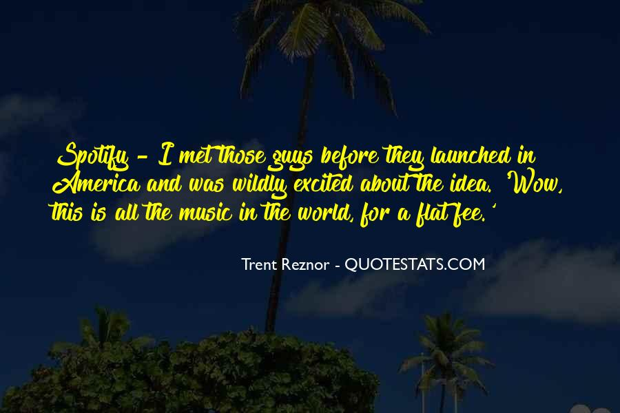 Quotes About The World And Music #98905