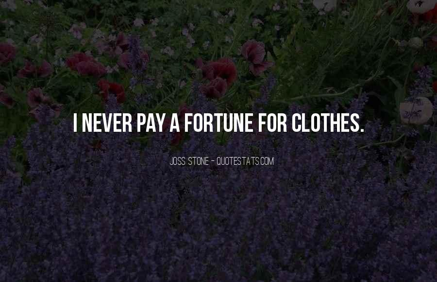 Quotes About Fortune #81693