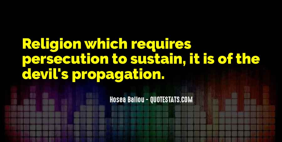 Quotes About Propagation #1265062