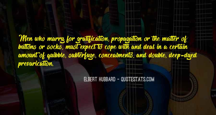 Quotes About Propagation #1545090