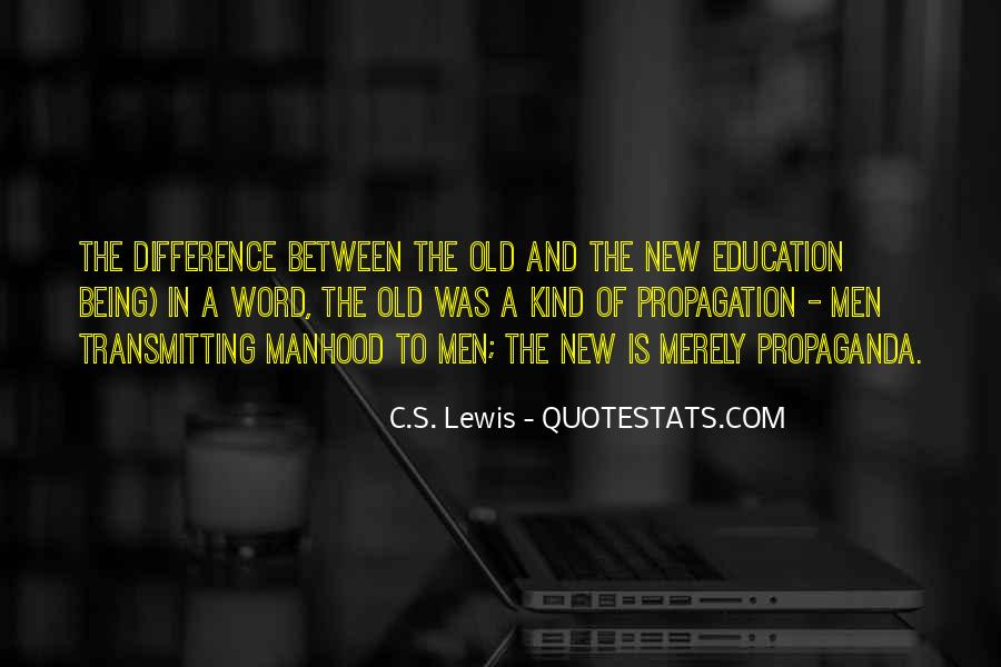 Quotes About Propagation #381342