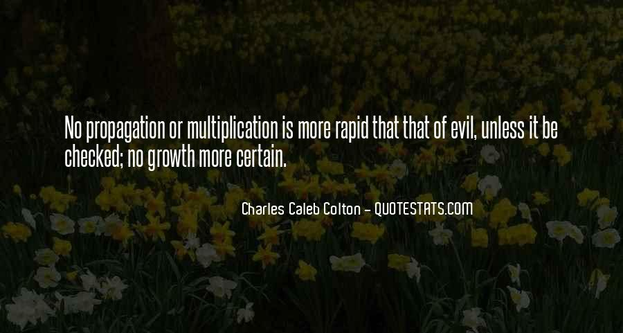 Quotes About Propagation #473099
