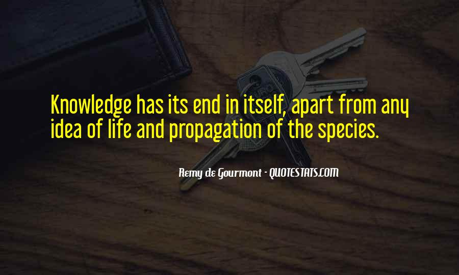 Quotes About Propagation #720214