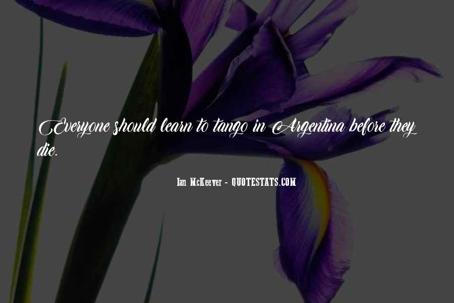 Argentina's Quotes #1069163