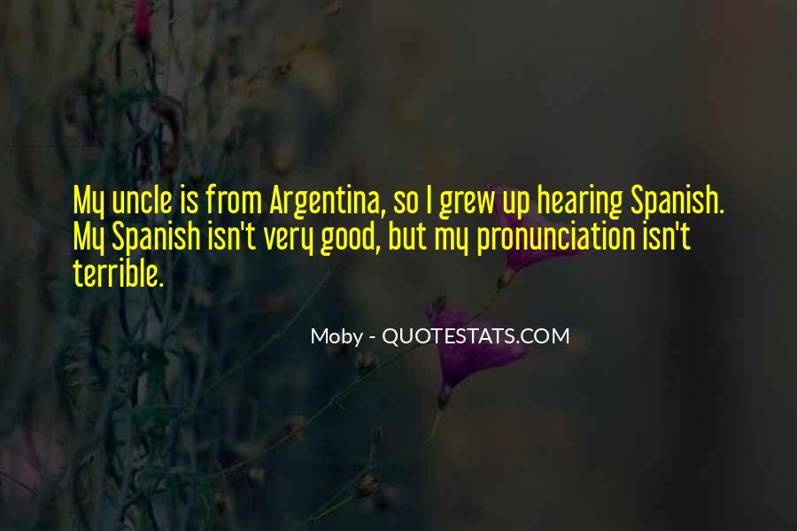 Argentina's Quotes #1136912