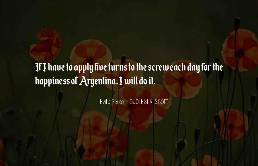 Argentina's Quotes #558049